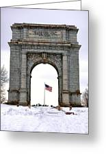National Memorial Arch Greeting Card by Olivier Le Queinec