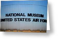 National Museum United States Air Force Greeting Card