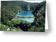 National Park Plitvice Greeting Card