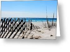 National Seashore Greeting Card