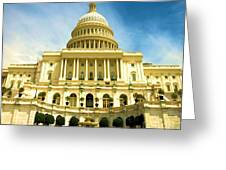 Nations Capital  Greeting Card