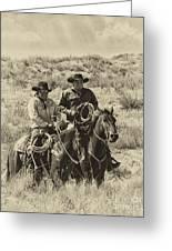 Native American Cowboys Greeting Card