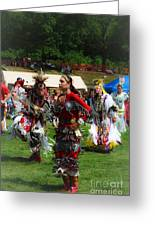 Native American Dancers Greeting Card