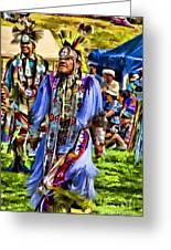 Native American Elder Greeting Card