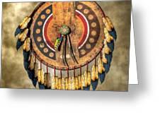 Native American Shield Greeting Card