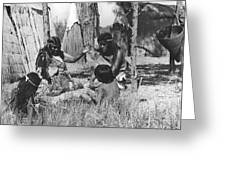 Native American Story Telling Greeting Card