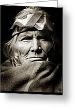Native American Zuni -  Si Wa Wata Wa  Greeting Card by Jennifer Rondinelli Reilly - Fine Art Photography