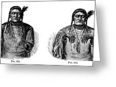 Native Americans: Sign Language Greeting Card