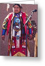 Native Hoop Dancer Greeting Card