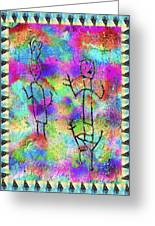 Native Legends II Greeting Card