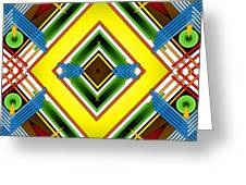 Native Weave Life Greeting Card