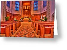 Nativity Of Our Lord Church Greeting Card