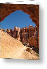 Natural Archway - Bryce Canyon Greeting Card