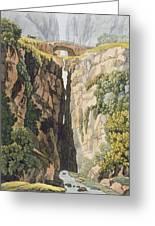 Natural Bridge, Valle Dicononzo Greeting Card