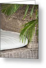 Natural Materials Furniture Detail Greeting Card