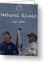Natural Rivals Greeting Card