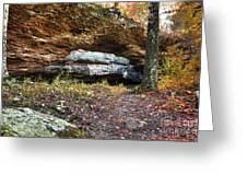 Natural Rock Bridge Greeting Card