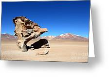 Natural Rock Sculpture Greeting Card