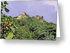 Nature And Medieval Ruins Greeting Card