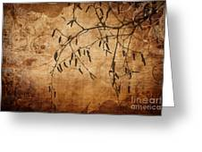 Nature Canvas  Greeting Card