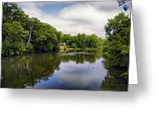 Nature Center On Salt Creek Greeting Card