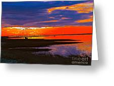 Nature Ends And Begins Greeting Card by Q's House of Art ArtandFinePhotography