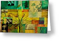 Nature Patchwork Greeting Card
