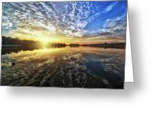 Nature Reflection Greeting Card