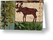 Nature Trail I Greeting Card by Paul Brent