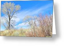 Natures Artwork Greeting Card