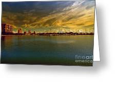 Natures Dramatic Skies  Greeting Card