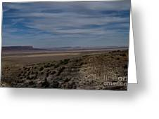 Natures Painted Desert Greeting Card