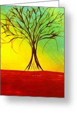 Natures Vivid Colors Greeting Card