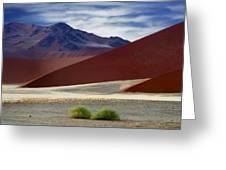 Naukluft Mountains  Greeting Card