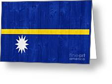 Nauru Flag Greeting Card