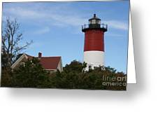 Nauset Beach Light Greeting Card