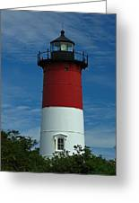 Nauset Beach Lighthouse Greeting Card by Juergen Roth