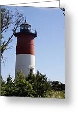 Nauset Light - Cape Cod -  Ma Greeting Card