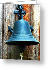 Nautical Bell Greeting Card