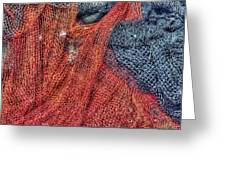 Nautical Nets Greeting Card by Heidi Smith