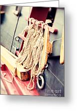 Nautical Rope Greeting Card