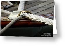 Nautical Textures Greeting Card