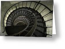 Nautilus Stairway Greeting Card