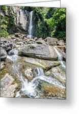 Nauyaca Waterfall Greeting Card