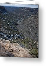 Navajo Canyon South View Greeting Card