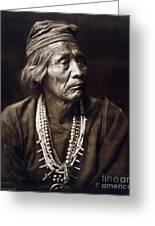 Navajo Medicine Man, C1904 Greeting Card