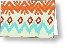 Navajo Missoni I Greeting Card