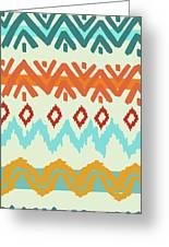 Southwest Pattern I Greeting Card