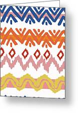 Navajo Missoni IIi Greeting Card