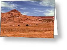 Navajo Nation Series Along Arizona Highways Greeting Card